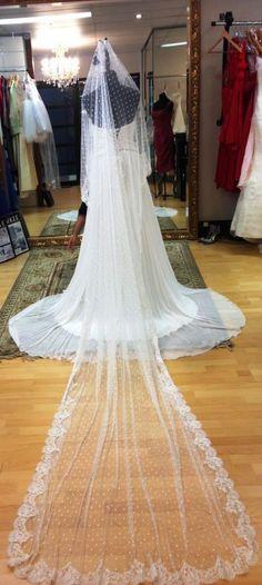 wedding veil by Skarr Bridal Wedding Veil, Wedding Dresses, Bridal Accessories, Fashion, Moda, Bridal Dresses, Alon Livne Wedding Dresses, Fashion Styles, Weeding Dresses