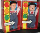 """For Sale - Vintage Goldberger Laurel & Hardy 12"""" Dolls [Mid 1980s]--New In Box --FREE Ship"""