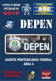 Apostila Concurso Depen Area 4 Agente Penitenciario Federal