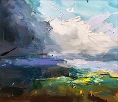 """Featured Painting : """"Memory of a Wheat Field"""" #LandscapeOleo"""