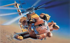 1/72 scale MH-53J Pave Low III