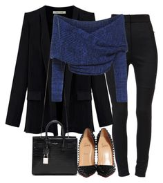 """Untitled #2226"" by dceee ❤ liked on Polyvore featuring Dolce&Gabbana, Yves Saint Laurent and Christian Louboutin"