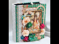 Graphic 45 Enchanted forest Mini Album Country Craft Creations design team project - YouTube
