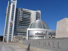 San Jose City Hall, San Jose, CA, in my hometown.