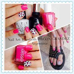 Nail art Animal print Manicure