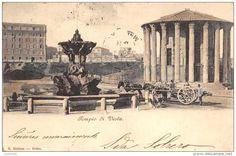 Tempio di Vesta - 1902