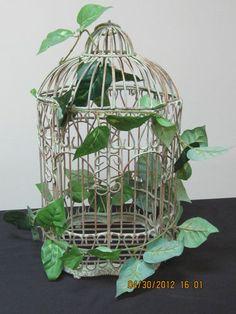 Metal Decorative Bird Cage