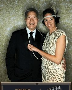 "9ce7986207cfd Reventals Event Rentals on Instagram: ""Our favorite couple at Magellan  International School's Noche de Gala! Looking good Tony & Gloria!"