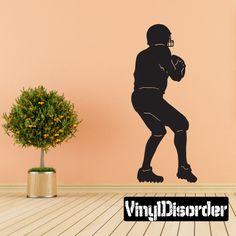 Football Wall Decal - Vinyl Decal - Car Decal - 042