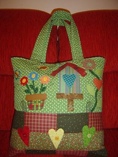 Bolsa by Patch Retalhos, via Flickr