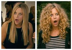 "Want Meg Ryan's straight hair from ""The Women..."" Taking this pic to the salon!"