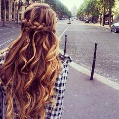 How can I get my long, straight hair to take on these amazing curls?!?!