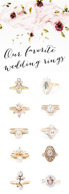 """It's every girl's dream; the most perfect, most sparkly, most undoubtedly dazzling diamond to say """"I Do!"""" to! Many brides-to-be fantasize about their rings – we've all been there (or will be there), right?! With so many styles, colors, themes and types to choose from, the options are almost endless. We've pulled our top pics for 2017 below – in different styles, for every different bride: http://www.beaconln.com/blog/top-engagement-ring-styles-2017/"""