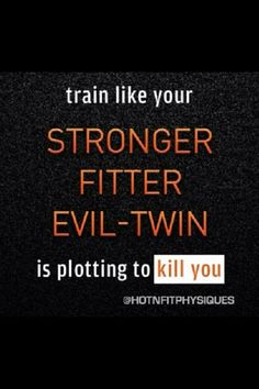 Happy Monday Everyone! Have a great day and an even better workout! This applies to Martial Arts too :)