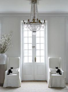 white & black...