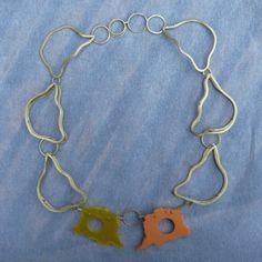 My entropy - Collar latón y resinas
