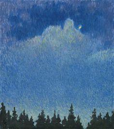 Moonlight, Giovanni Giacometti 1931