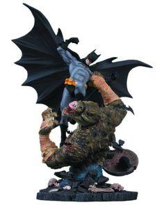 Action Figure DC Collectibles Batman vs. Killer Croc Statue