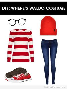 Last minute Halloween Costume Wheres Wally