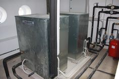 Sala de calderas de la Aula Naútica