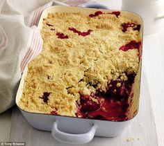 Plum crumble by Mary berry