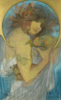 ART & ARTISTS: Alphonse Mucha - part 11