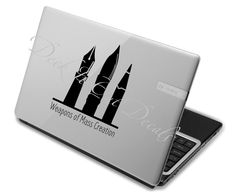 #deckitoutdecals  EDE00058 Weapons of Mass Creation by DeckItOutDecals on Etsy