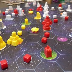 Reposting @boardgamebeans: Finally had a chance to sit down and game recently. This is Gaia Project, or Space-Terra Mystica. I really enjoyed it, just like I enjoy TM, go figure. #boardgames #tabletop #bgg #boardgamegeek #games #fun