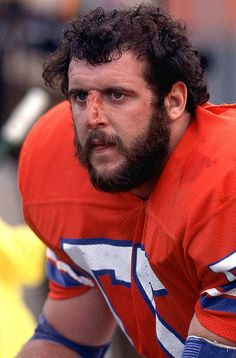 Remember Lyle Alzado - Denver Broncos. I remember when he came to Monte Vista and Randy got to go see him.
