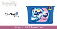 Concorso Dash instant win