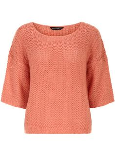 Coral kimono fluffy jumper - Sweaters  - Clothing