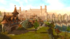 Guild Wars: Ascalon before it was destroyed by the vicious Charr