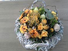 Zelfgemaakt bloemstukje