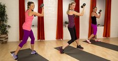 Serious arm work out-- LOW weights (2-5 lbs)- 10 mins, hard,  yumi lee popsugar