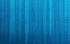 Matrix code blue