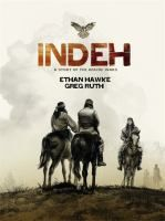 """Indeh / Ethan Hawke ; Greg Ruth. Ethan Hawke (yes, *that* Ethan Hawke) pens this tale of Geronimo and the early Apache Wars, from the 1850s until Cochise's death in 1874. The decision to ground the action in this time frame gives us a larger context than the usual focus on the period of Geronimo's """"renegade"""" exploits. Ruth's black and white art doesn't stint on action, but maintains the script's seriousness of purpose."""