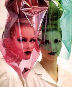 John-Galliano-for-Christian-Dior-Haute-Couture-FW-2010 plastic