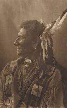 `Chief Bear Ghost` Photogravure by Joseph K. Dixon, 1913