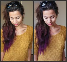 My Dip Dye Hair! - Beautylab.nl