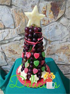 arbol de uvas para fin de año