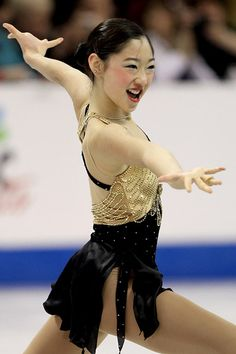 Mirai Nagasu- Black Figure Skating / Ice Skating dress inspiration for Sk8 Gr8 Designs