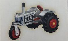 Antique Tractors 2006 Hallmark Ornament QXM2143 10th in Miniature Series #HallmarkKeepsakeOrnament