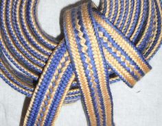 Kumihimo Flat Braid Patterns