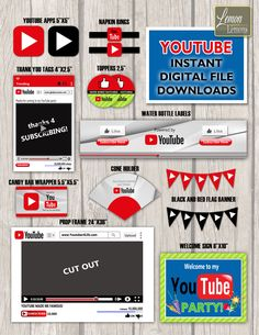 Youtube invitation youtube birthday invitation youtube theme party youtube invitation youtube birthday invitation youtube theme party youtube thank you tag youtube theme invites clapperboard invitation birthday stopboris Image collections