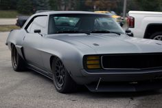1969 AXIS Chevy Camaro built by the Roadster Shop