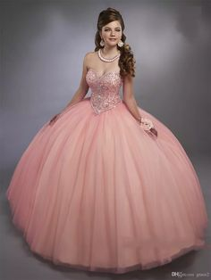 Pink Quinceanera Dresses 2017 Mary's with Sheer Bolero And Lace Up Back Bling Bling Crystals Ball Gown Sweet 15 Dress Sweetheart Vestidos De 15 Anos Quinceanera Dresses 2017 2 Piece Quinceanera Dresses Online with $236.58/Piece on Grace2's Store | DHgate.com
