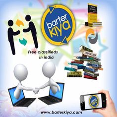 Barterkiya.com is a fast growing free classifieds website and app where the users can list their used goods for exchange.