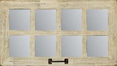 SALE 14 x 25 Barn Window Mirror (8 pane) ** You can find out more details at the link of the image.