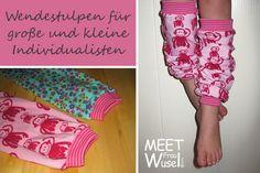 Meet Frau Wusel: (Wende)stulpen made by Frau Wusel