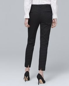 Women s Comfort Stretch Slim Ankle Pants by White House Black Market Blouse  Outfit 820b8820c
